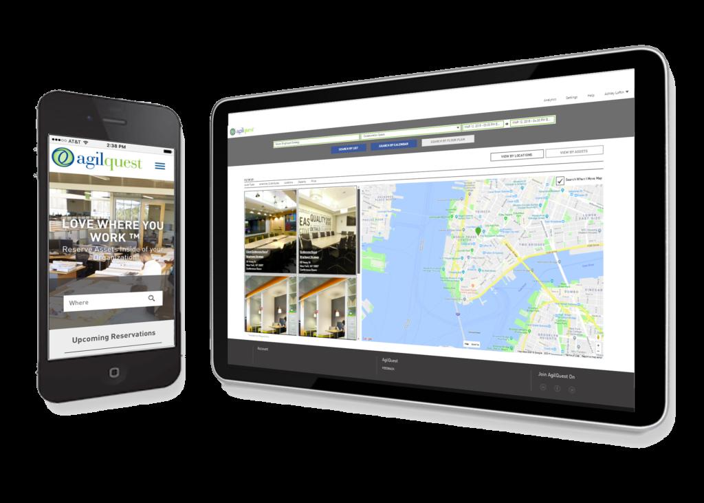 Agilquest Forum Mobile Device Screens